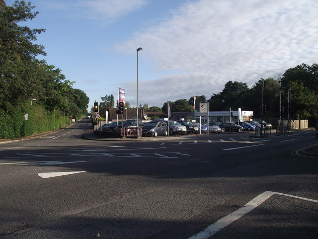 Holton Heath cross roads