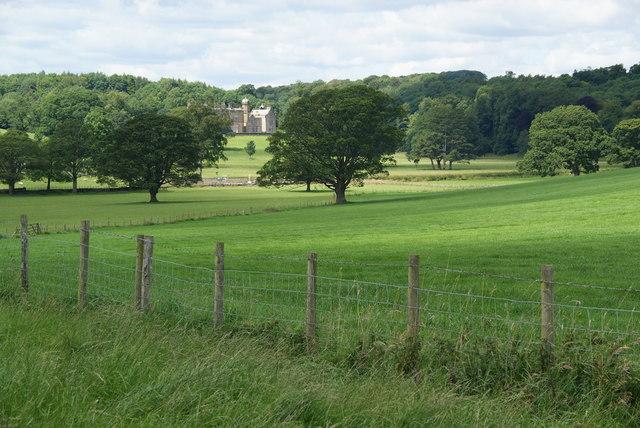 Fields above Eshton Hall