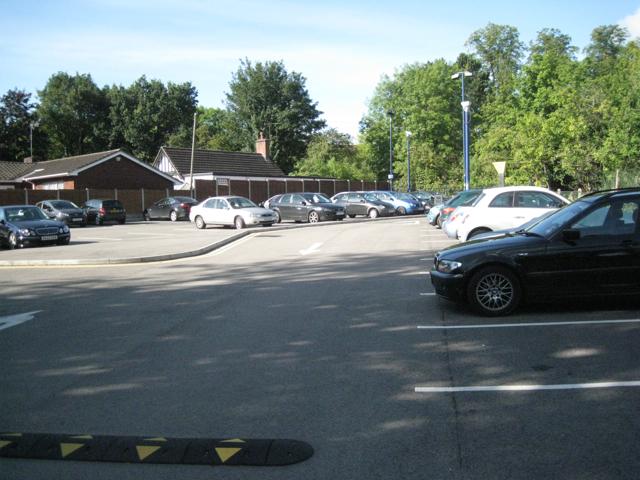 Hampton-in-Arden station car park