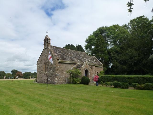 Stock Gaylard: parish church of St. Barnabas