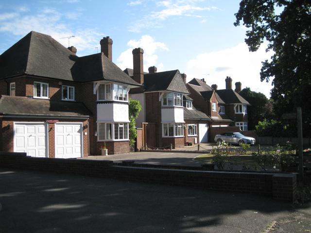 Detached houses, Meriden Road