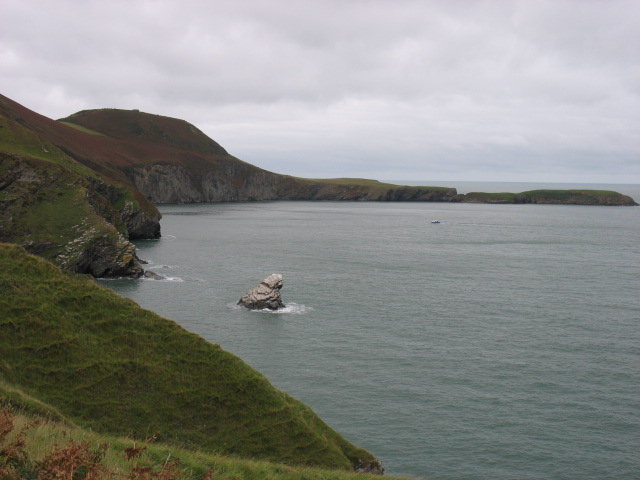 Ceredigion coast north of the Urdd Centre