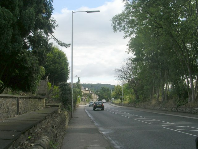 Otley Road - viewed from Roundwood Road