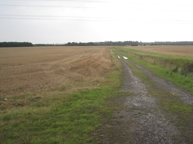 Track to Rye Hill Farm