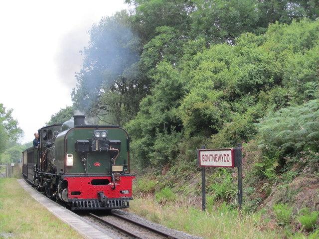 Welsh Highland Railway Steam Train