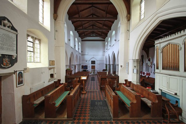 St Mary & St Margaret, Sprowston, Norwich - West end
