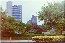 SS6593 : Park in front of  Swansea Castle by Hywel Williams
