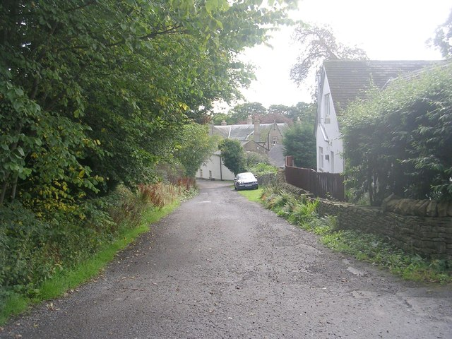 Old Langley Lane - viewed from Fairfield Drive