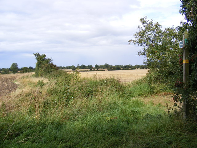 Footpath to Worlingworth & New Roads