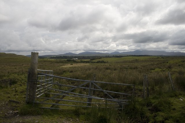 Gates at Entrance to Borichill Quarry, Islay