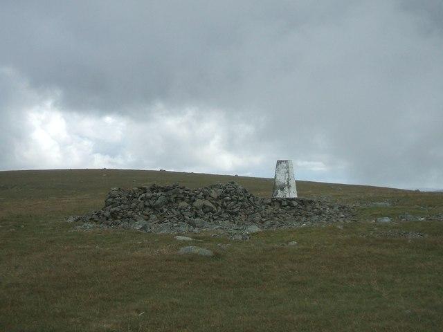 Summit of Shalloch on Minnoch