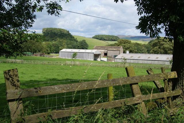 Farm buildings at New Laithe