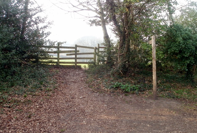 Path from canal tunnel near Cwmbran
