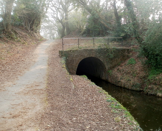 NE portal of Cwmbran canal tunnel