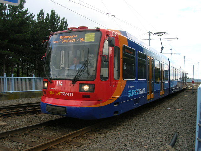Supertram, Sheffield
