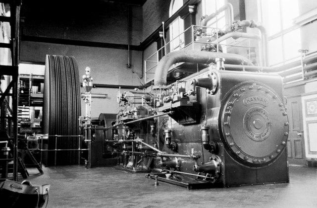 Ensor Mill - steam engine