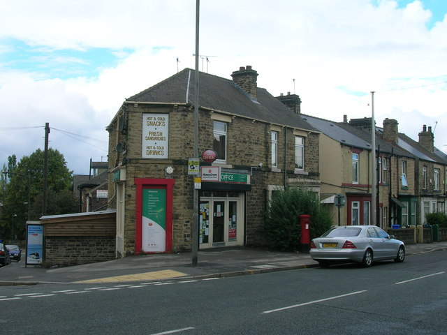 Post Office on the B6070, Sheffield