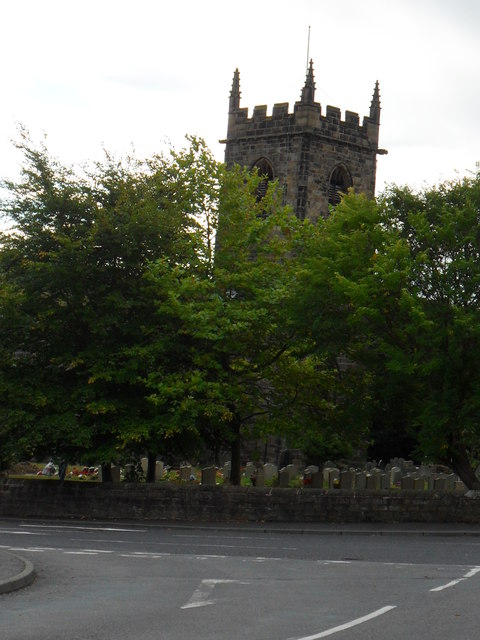 Church of All Saints from Silkstone Lane