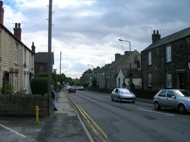 Woodhouse Road (B6064) Sheffield