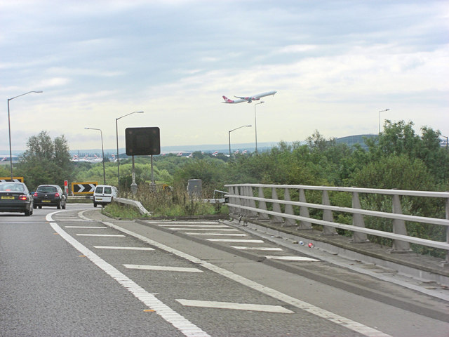 M4 junction 4b overpass