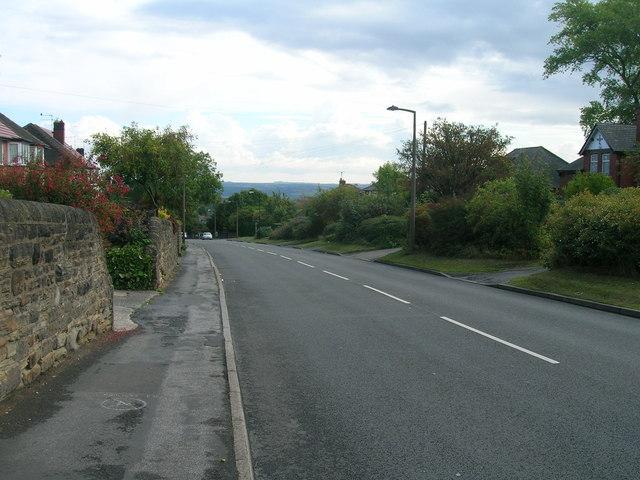Richmond Road (B6065) Sheffield