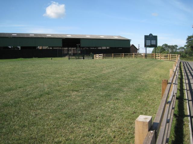 Entrance and sheds, Patrick Farm