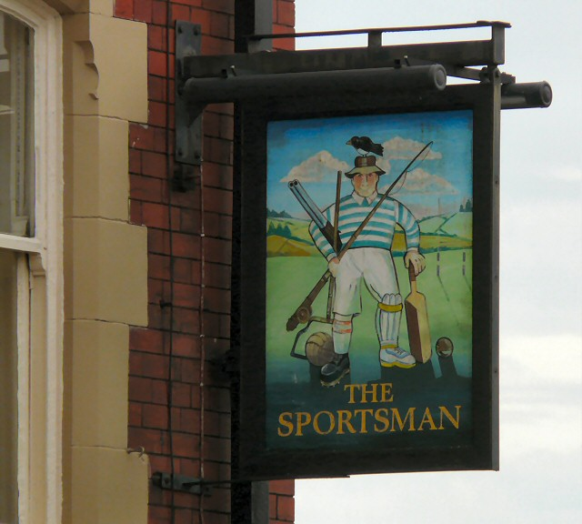 Sign for the Sportsman