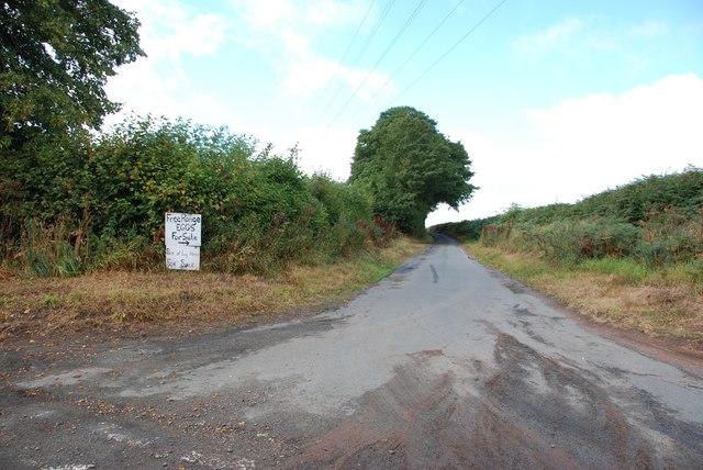 Little Checkhill Lane off Greensforge Lane