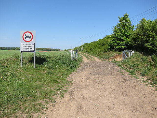 Roman Road at Mark's Grave