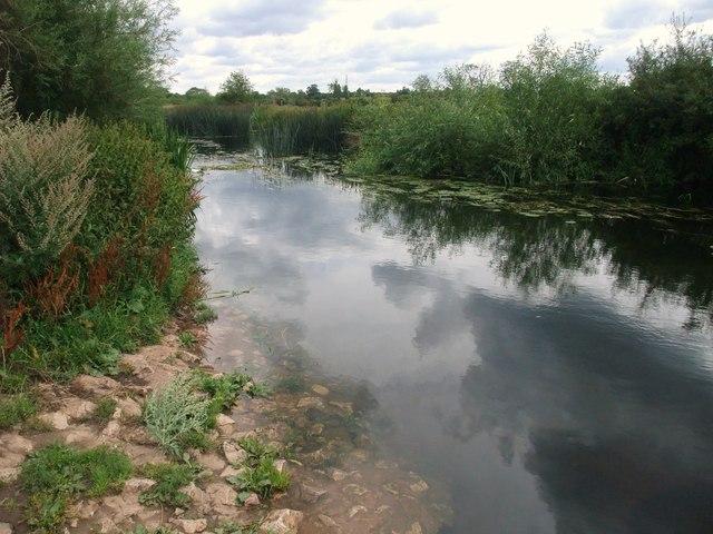The River Soar, Jubilee Park, Enderby