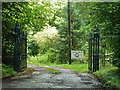 TQ4558 : Gates to Wood Farm by Robin Webster