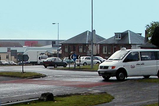 Kilmaurs Road Roundabout