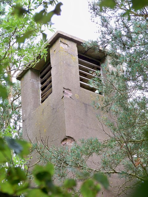 RAF Charterhall - Gas Cleansing Centre (Southern) Ventilation Tower