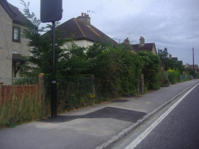 Houses on Midhurst Road, Lavant