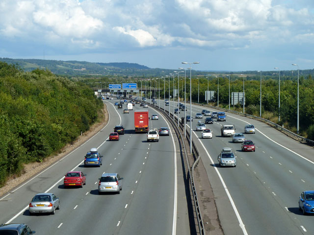 M25 approaching M26 junction