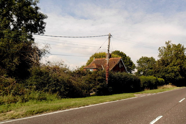 House on A26 at Upper Wellingham