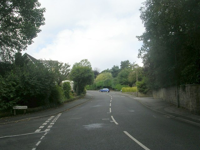 Station Road - viewed from Kirklands Road