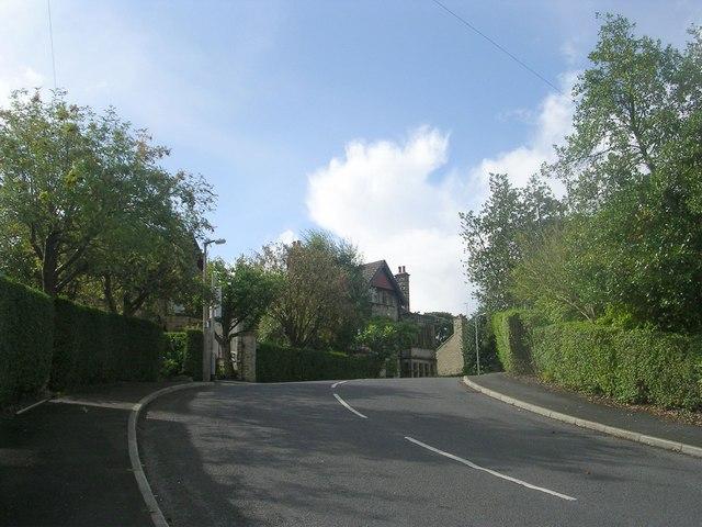 Park Mount Avenue - viewed from Kirklands Road