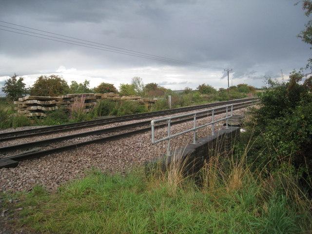 The line towards Immingham
