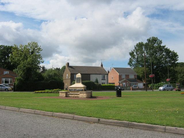 Commemoration Stone, The Green North Wingfield
