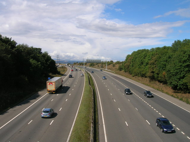 M1 towards Leeds