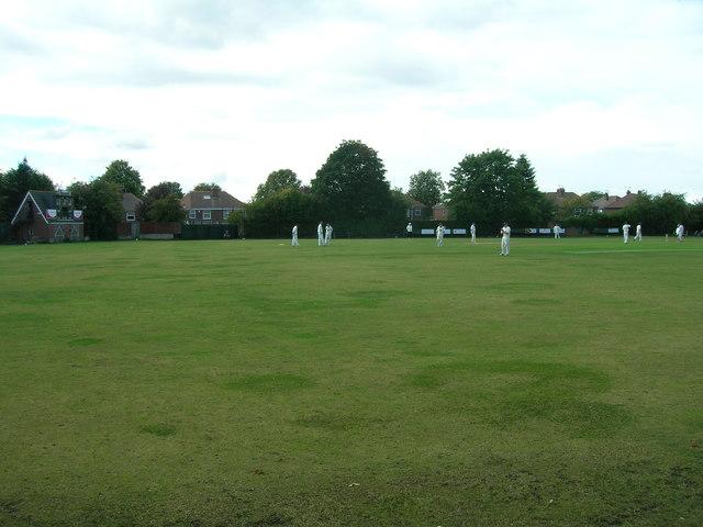 Cricket Field, Wickersley