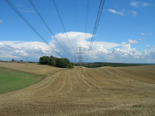 Farmland off High Hooton Road