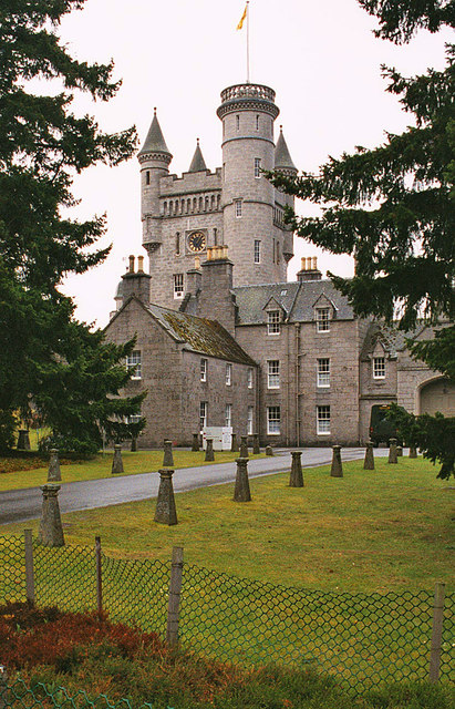 Tower of Balmoral Castle
