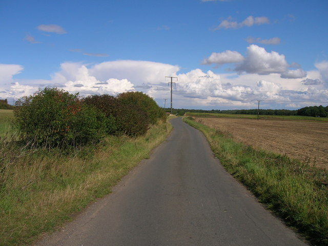 Abbey Lane towards the A634