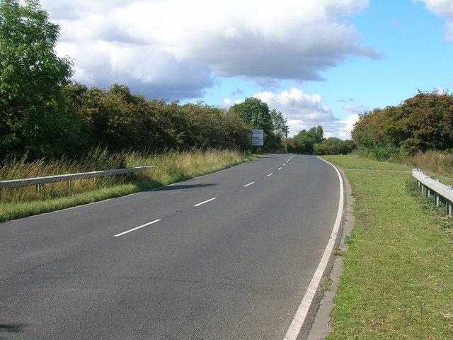 A634 towards Maltby