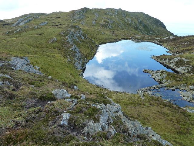 Lochan north of Cruach Scarba