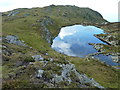 NM6904 : Lochan north of Cruach Scarba by Peter Standing
