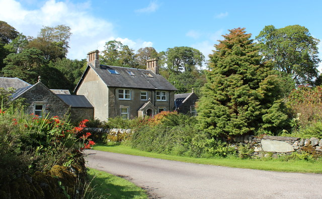 Nether Largie farmhouse