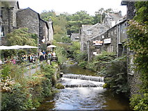 NY3704 : A river runs through it (Ambleside) by Peter S